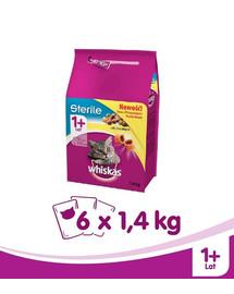 WHISKAS Steril kuracie 1.4kg x 6