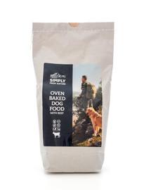 SIMPLY FROM NATURE Oven Baked Dog Food with beef Pečené krmivo s hovädzím mäsom 1,2 kg