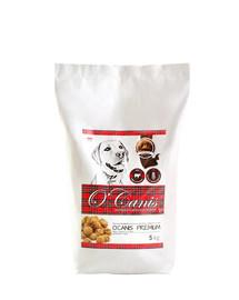 O'CANIS Granule pre psov hovädzie pečené 5 kg