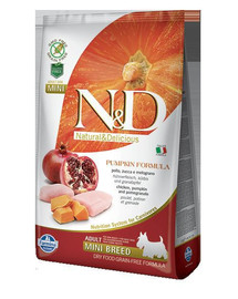 Farmina N & D dog Grain Free PUMPKIN Adult mini chicken&pomegranate 7 kg