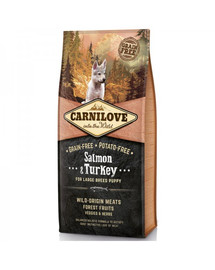 CARNILOVE Carnilove Salmon & Turkey for Large Breed Puppy 12 kg
