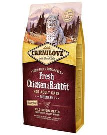 CARNILOVE Carnilove Cat Fresh Chicken & Rabbit  6 kg