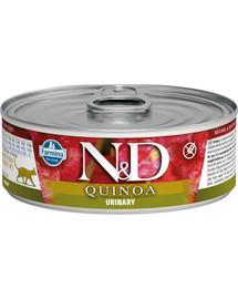 Farmina N&D cat QUINOA Urinary 80 g