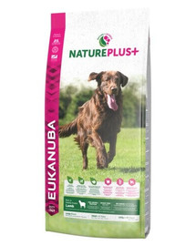 EUKANUBA Nature Plus+ Adult Large Breed Rich in freshly frozen Lamb 2,3 kg