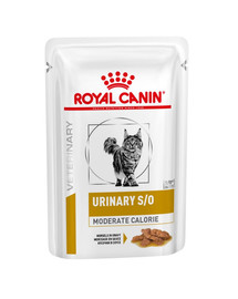 ROYAL CANIN Veterinary Diet Cat Urinary S/O Moderate Calorie 12x100 g