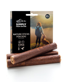 SIMPLY FROM NATURE Nature Sticks with duck Prírodné kačacie tyčinky 3 ks.