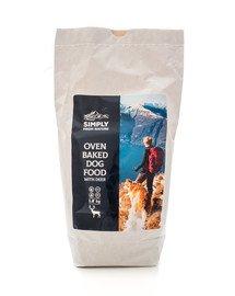 SIMPLY FROM NATURE Oven Baked Dog Food with deer Pečené krmivo s jelením mäsom 1,2 kg