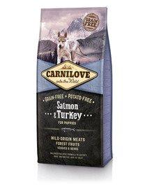 CARNILOVE Carnilove Dog Salmon & Turkey for Puppies 12 kg