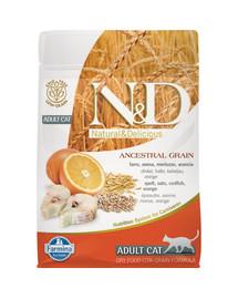 N&D Low Grain CAT Adult Codfish & Orange 5 kg