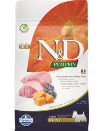 N & D Grain Free Pumpkin DOG Adult Mini Lamb & Blueberry 800 g