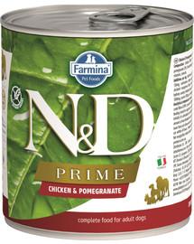 N&D DOG Prime Adult Chicken & Pomegranate 285 g