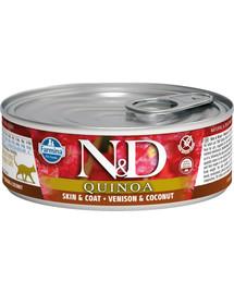 Farmina N&D Cat QUINOA Venison & Coconut 80 g