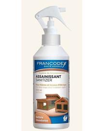 FRANCODEX Dezinfekčný a osviežujúci prostriedok do kyvety a klietky 500 ml
