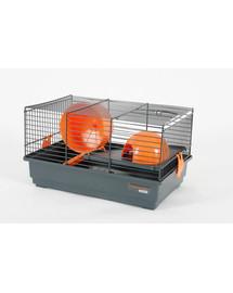 ZOLUX Klietka Indoor 40 cm šedo-oranžová