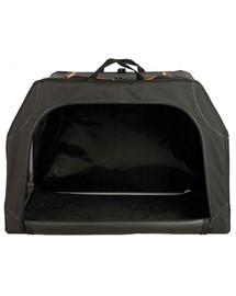 TRIXIE Rozšíriteľný prepravný box, M: 84 × 54 × 55 cm