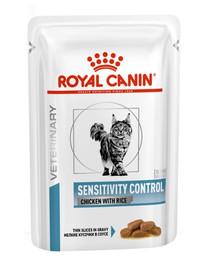 ROYAL CANIN Cat Sensitivity kuracie s ryžou 85 g