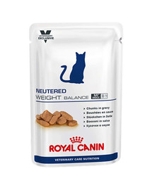 ROYAL CANIN Cat Neutered weight balance kapsička 100g