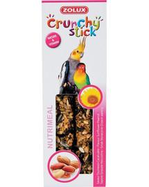 ZOLUX Crunchy Stick veľké papagáje Slnečnica / arašid 115 g