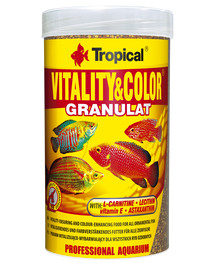 TROPICAL Vitality and Color granulát 250 ml (138 g) tuba
