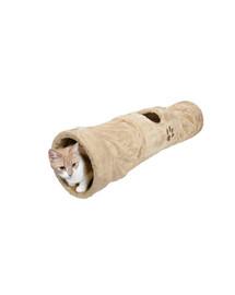 TRIXIE Tunel dla kota 125 cm beż