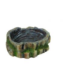 TRIXIE Terárijná miska na vodu a krmivo pre plazy 18.5 x 4.5 x 17 cm