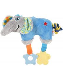 ZOLUX Slon hračka Puppy modrý