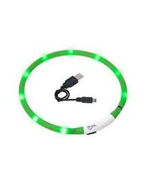 KARLIE LED obojok zelený 70 cm