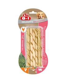 8IN1 Maškrta Delights párok Twisted Sticks 10 ks