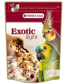 Versele-LAGA Exotic Light 750 g zmes pre stredné a veľké papagáje s pufovanými obilkami