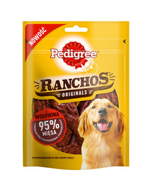 PEDIGREE Ranchos 95% Hovädzie 7 x 70 g