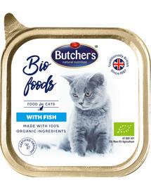 BUTCHER'S Cat Bio s rybou 85 g