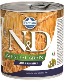 N&D DOG Low grain Adult Lamb & Blueberry 285 g