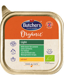 BUTCHER'S Organic Light vanička hovädzie 85 g