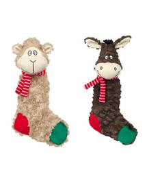 TRIXIE Šuštavé vianočné hračky