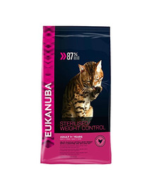 EUKANUBA Cat Veterinary Diets Dryweight Diabetic Control Adult 400 g