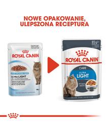 ROYAL CANIN Ultra Light Jelly 12x 85g kapsička pre mačky s nadváhou v želé