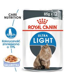 ROYAL CANIN Ultra Light Jelly 85g kapsička pre mačky s nadváhou v želé