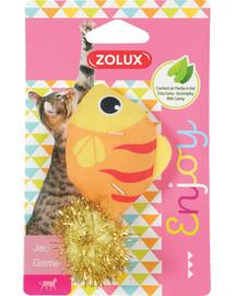 ZOLUX LOVELY Hračka pre mačku ryba s catnipom