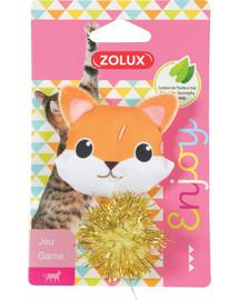 ZOLUX LOVELY Hračka pre mačku líška s catnipom