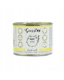 GUSSTO Cat Fresh Calf čerstvé teľacie 200 g