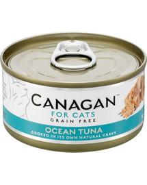 CANAGAN Cat Ocean Tuna 75 g morský tuniak