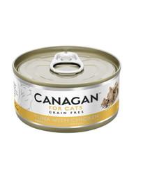 CANAGAN Cat Tuna with Chicken 75 g tuniak a kuracie