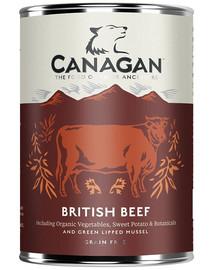 CANAGAN Dog British beef 400 g