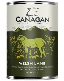 CANAGAN Dog Welsh lamb waleské jahňacie mäso 400g
