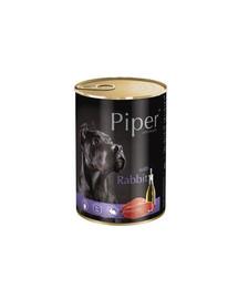 DOLINA NOTECI PIPER pre dospelých psov s králikom 400 g