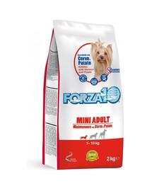 FORZA 10 Mini Maintenance krmivo pre dospelých psov malých plemien jeleň a zemiaky 2 kg