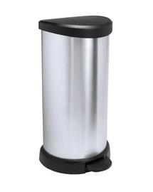 CURVER Odpadkový kôš DECO BIN 40l strieborný