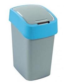 """CURVER Odpadkový kôš """"FLIP BIN"""" 25 l strieborno-modrý"""