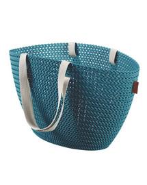 CURVER Emily KNIT Zberná taška modrá