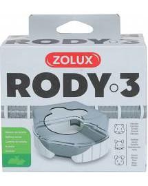ZOLUX Komponenty Rody 3-toaleta biela